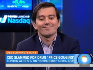Martin Shkreli Retrophin Ponzi Price Gouging TreveriCapital Security Fraud
